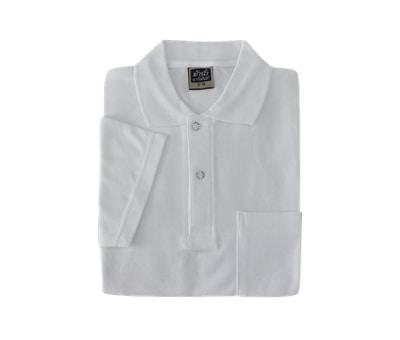 เสื้อโปโล สีขาว รุ่น MN